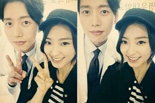 SISTAR's Bora takes selfie with Park Hye-jin