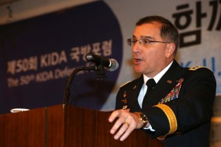 USFK chief recommends THAAD to Korea