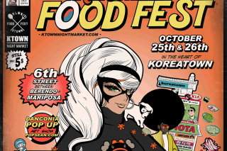 KTOWN NIGHT MARKET HALLOWEEN FOOD FEST!