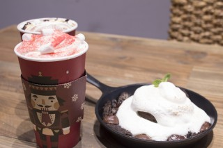 Caffebene introduces their new winter drink