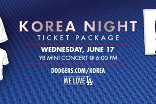 The Korean wave sweep LA Dodgers with 'Korean Night'