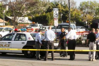 3 stabbed when violence erupts at KKK rally in California