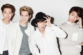 CNBLUE sings brighter notes