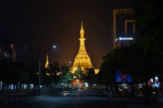 Myanmar pagoda re-clad with gold blocks as devotees look to gain spiritual credit