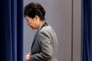 Park Geun-hye ousted