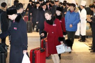 [PyeongChang 2018] NK taekwondo team heads back home after four shows