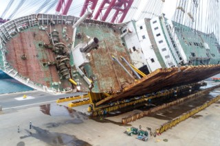 Last year saw record number of ship accidents