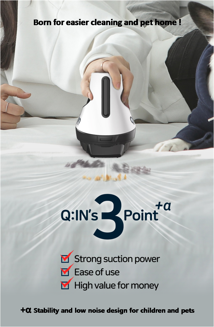 Portable vacuum cleaner with high quality