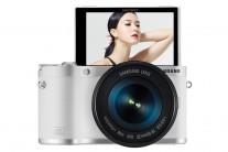 <베스트브랜드>삼성 미러리스  카메라 'NX300M', 180도 회전하는 셀카형 기능으로 여심(女心) 사로잡다
