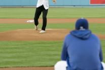 다저스 '코리안의 전설'을 잇는 듀오…던지고 받았다