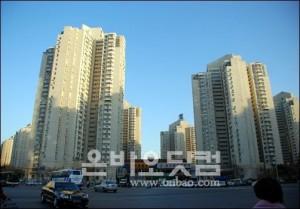 [자료사진] 베이징 한국인 밀집 거주지역 왕징의 왕징신청아파트