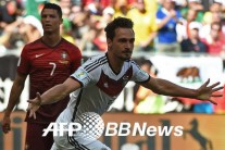 독일축구의 위력…호날두의 포르투갈 4-0 완파