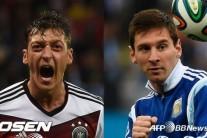 뮐러의 독일 VS. 메시의 아르헨…진검 승부