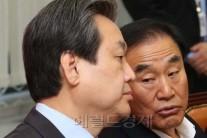심각한 표정으로 김무성,이재오 무슨이야기를?