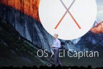 애플  OS X 새 버전 '엘 캐피탠'발표