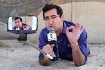 카메라맨 없어도 혼자서 생중계…신개념 셀카봉 화제