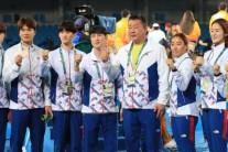 [올림픽 순위]'10-10 목표' 무산…'금메달 9개-종합순위 8위'