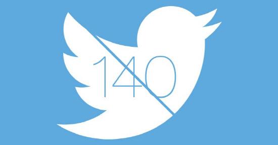 트위터 140자 제한 철폐