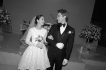 비♥김태희. 활짝 웃는 결혼식 사진 공개