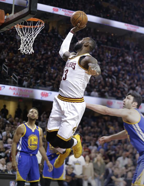 NBA Finals Warriors Cavaliers Basketball