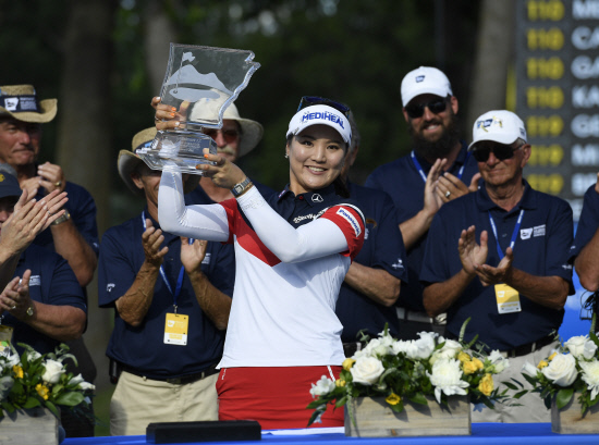 LPGA Tour Golf <YONHAP NO-0934> (AP)