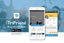 외국인 친구 매칭 플랫폼 '트리프렌드' 안드로이드 애플리케이션 론칭