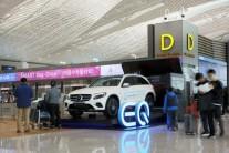 벤츠, 전기차 브랜드인 'EQ' 국내 첫 선