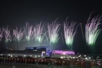 """[2018 평창]바흐 IOC 위원장 """"남북 공동입장, 소름 끼치게 감동적"""""""