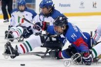 [패럴림픽] 한국 썰매하키, 이탈리아 꺾고 사상 첫 동메달