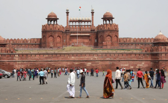 INDIA RED FORT PROTEST <YONHAP NO-5113> (EPA)