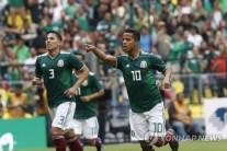 월드컵 한국 리그 상대 평가전 희비…멕시코 웃고 독일 울고
