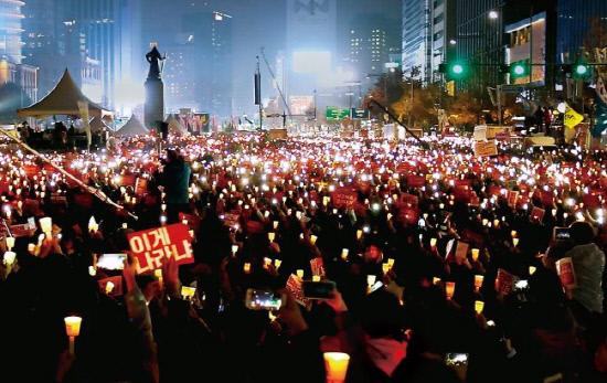 촛불 민심