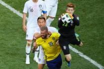 [월드컵] 한국-스웨덴, 전반 0-0…박주호 부상교체