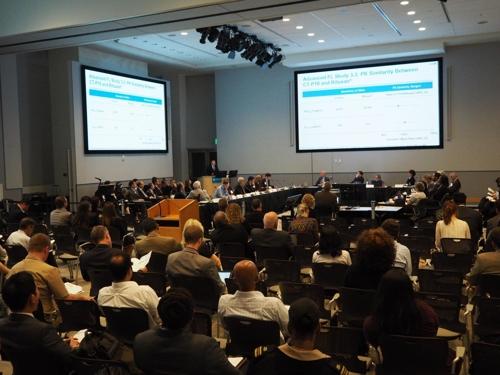 10일 미국 메릴랜드주 FDA 화이트오크 캠퍼스에서 열린 FDA 항암제 자문위원회 회의에서 '트룩시마'가 만장일치로 승인 권고 의견을 받았다. [셀트리온 제공]