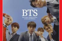 BTS, 타임지 커버스토리 장식하다