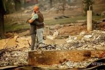 가주 산불 유해찾기에 800여명 '추수감사절' 봉사…실종자수 줄어
