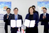 조지아 주정부 한국수력원자력과 신재생에너지 사업 착수