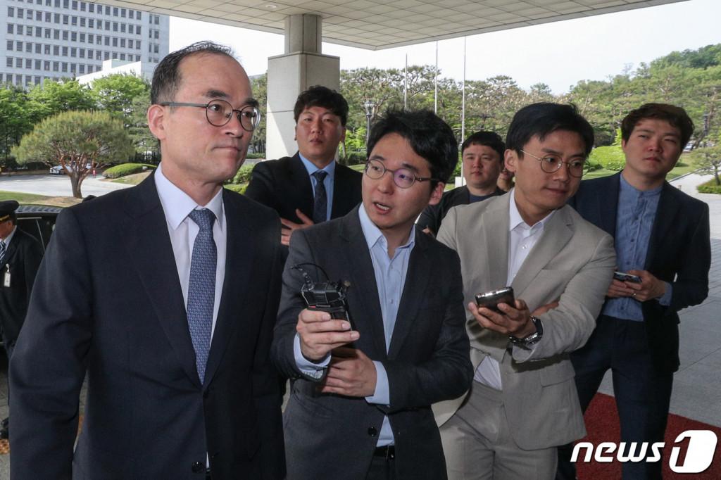 문무일 검찰총장. 2019.5.9/뉴스1 © News1