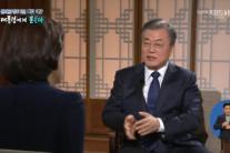 """[文정부 2년 대담]  """"김정은, 도보다리서 '비핵화 의지' 진솔하게 표명"""""""