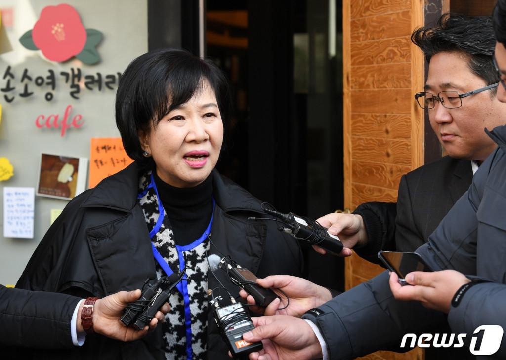 목포부동산투기손혜원불구속기소…보안자료로차명매입종합