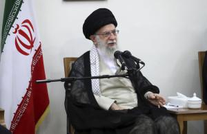 아야톨라 세예드 알리 하메네이 이란 최고지도자.[AP=헤럴드경제]