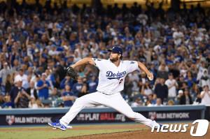 LA 다저스 클레이튼 커쇼. © AFP/헤럴드경제