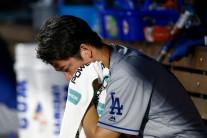 다저스 선발 마에다 6실점…콜로라도에 1-9 대패