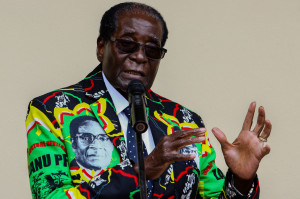 로버트 무가베 전 짐바브웨 대통령[연합=헤럴드경제]