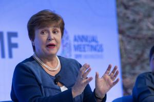 크리스탈리나 게오르기에바 IMF 총재. [EPA=헤럴드경제]