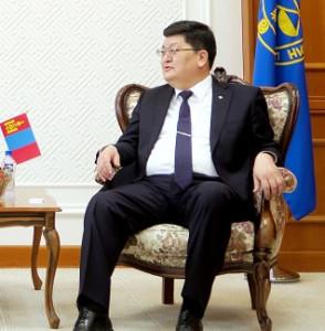 오드바야르 도르지(Odbayar Dorj) 몽골 헌법재판소장