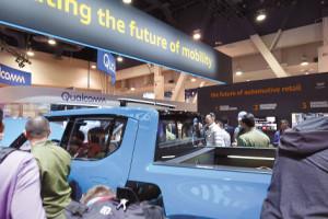 아마존이 투자한 미국 전기차 업체 리비안(RIVIAN)이 개발 중인 픽업트럭.
