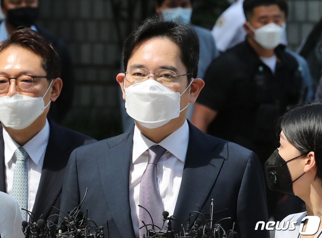 불법 경영승계 의혹을 받는 이재용 삼성전자 부회장.