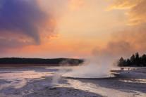 [양희관의 아름다운 세상] 옐로우스톤 국립공원의 황홀한 선셋