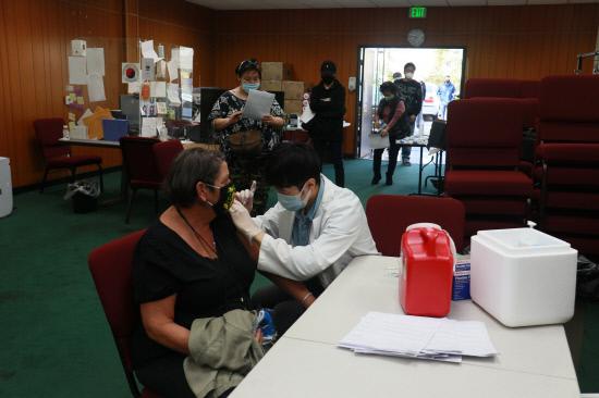한인회무료독감예방접종